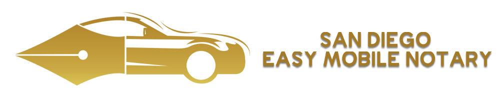 San Diego Mobile Notary Logo